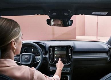 Volvo XC40 Eléctrico Mantente sincronizado